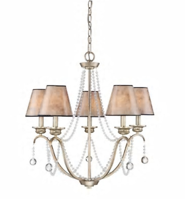 BRAND NEW Kichler Diana 5 Light Olde Bronze French CountryCottage Chandelier