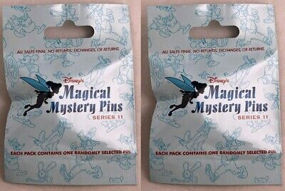 Disney Parks Magical Mystery Pins Series 11 Classics Blind Pack Pouch - NEW
