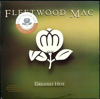 FLEETWOOD MAC 'Greatest Hits' 1988 Never played 1st pressing Promo LP