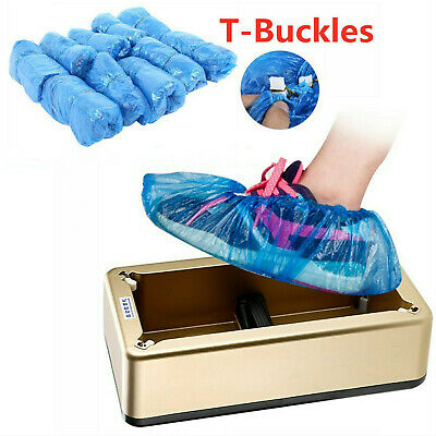 Automatic Shoe Cover Dispenser Disposable Shoes Cover Machine Floor Protector