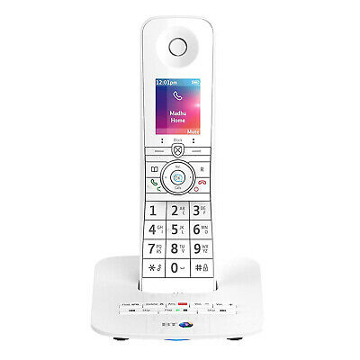 BT Premium Phone Single Cordless In White With Voice Control - NEW Plain Boxed*