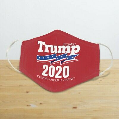 President Trump 2020 Face Mask Reusable Face Mask Unisex Adult Mask Cover