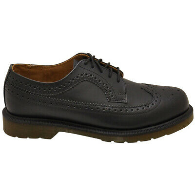 Dr.Martens 3989 Smooth Leather Smart Casual Lace-Up Brogue Derby Unisex Shoes
