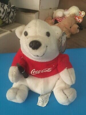 1997 Coca Cola Plush Bear