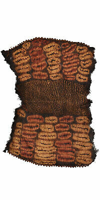Dida Ceremonial Skirt Raffia Dyed Ivory Coast African Art