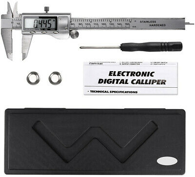 Digital Vernier Caliper Micrometer Tool Gauge 150mm Electronic LCD Display