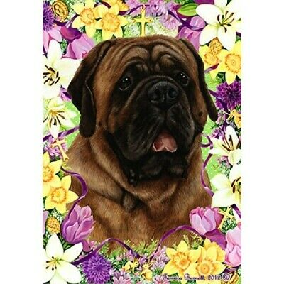 Easter House Flag - Red Mastiff 33276