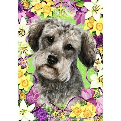 Easter House Flag - Schnoodle 33474