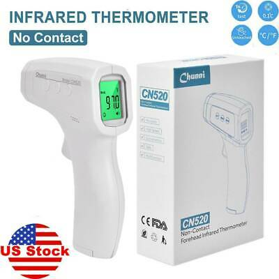 Digital Infrared Thermometer Non-contact IR Body Temperature Gun For Baby Adult.