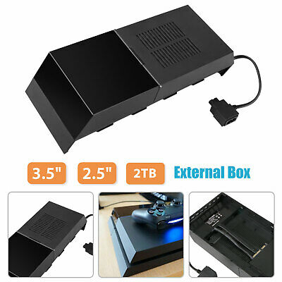 """For Sony PS4 Data Bank 2TB Storage Capacity Hard Drive External Space 2.5"""" 3.5"""""""