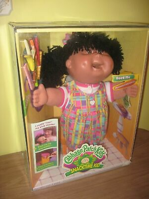 RARE COLLECTOR CABBAGE PATCH SNACKTIME KID CPK HISPANIC DOLL Carol Janice Aug 15