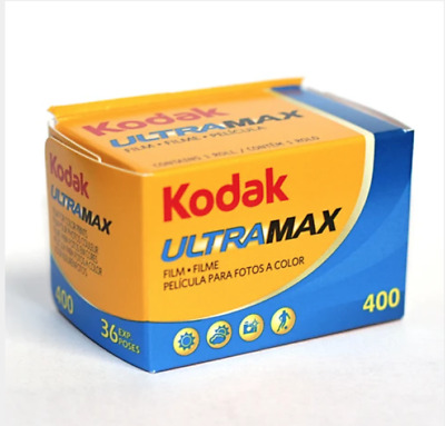 Kodak UltraMax 400 Color Print 35mm Film 36 Exposures