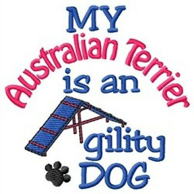 My Australian Terrier is An Agility Dog Short-Sleeved Tee - DC1936L