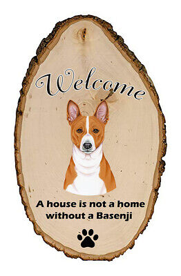 Outdoor Welcome Sign (TP) - Basenji 94172