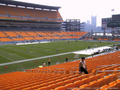 4 TICKETS NEW ORLEANS SAINTS @ PITTSBURGH STEELERS 8/23 *Sec 130 Row H*