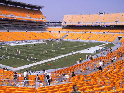 2 TICKETS NEW ORLEANS SAINTS @ PITTSBURGH STEELERS 8/23 *Sec 105 Row P*