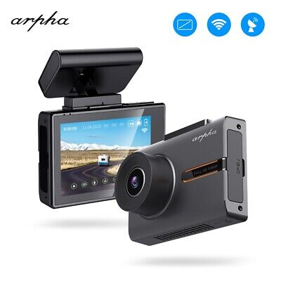 "Arpha 3"" 1080P Car Dash Cam OLED Touch Screen DVR Camera WiFi GPS Night Vision"
