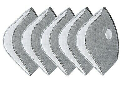 Pack Of 5 Cycling Mask Filters 2.5M