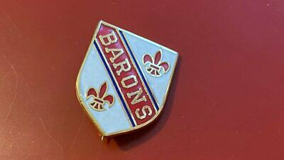 Cleveland Barons--1990'S---Ice Hockey Badge--Gold Metal