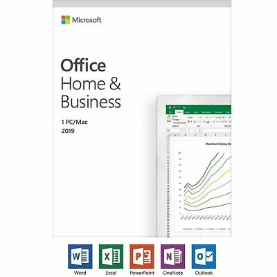 Microsoft Office Home and Business 2019 PC/MAC - T5D-03190 Online activation