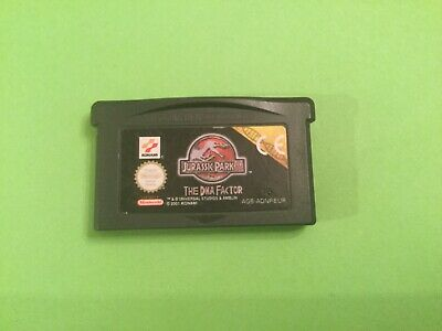 🌟Jurassic Park🌟Nintendo Game Boy Advance🌟Gba🌟Sp🌟Ds🌟Fast Uk🇬🇧Postage🌟