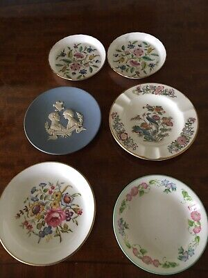 Minton/Royal Worcester & Wedgwood Pin Dishes/Ashtray