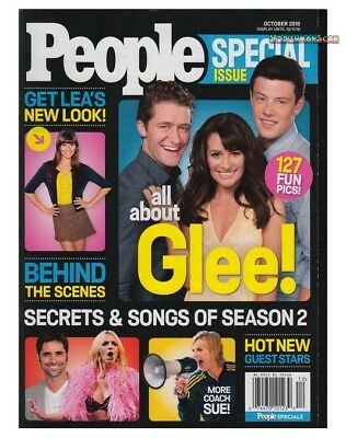 ALL ABOUT GLEE People Magazine special issue 2010 VG