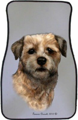 Border Terrier Car Floor Mats Pair (TB) 36122