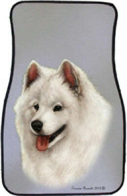 Samoyed Car Floor Mats Pair (TB) 36077