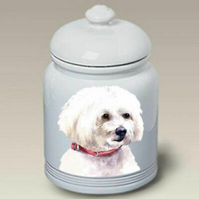 Maltese Ceramic Treat Jar BVV 23041