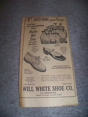 1957 The News Lynchburg Virginia Will White Shoe Company Mouseketeers