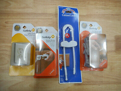 Baby Proof kit! baby proofing household latches, sockets, cabinet, security