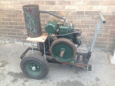 PETTER W1 STATIONARY ENGINE A1, Water Cooled, Full Working Order.