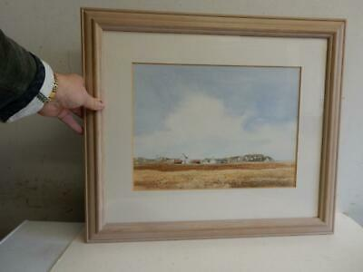 modern old PAINTING Ross of Mull signed Angus Stewart