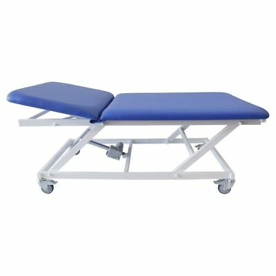 Bobath Lounger Two Pieces, Therapy Table El. Adjustable Height, Mobile