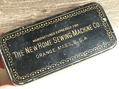 Antique The New Home Sewing Machine Attachment Kit
