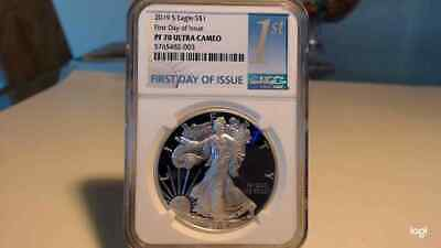 2019-S Proof $1 American Silver Eagle NGC PF70UC FDI First Label