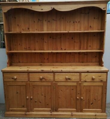 Large 6' Handmade Bespoke Gillerson Solid Pine Dresser Thick Top Dovetailed