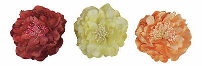 New Vtg Style 1920's 30s 40s Downton Gatsby Hair Flower Clip on Corsage