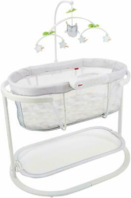 Fisher Price Soothing Motions Bassinet with Smart Connect DPV70-9993