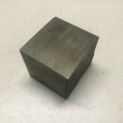 3 Inch Square 1018 CR Steel Bar End Scrap.