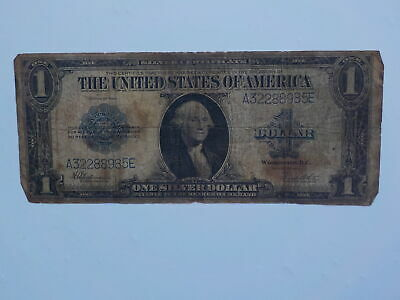 Silver Certificate 1923 1 Dollar Bill Note Currency Paper Money Note Large USA N