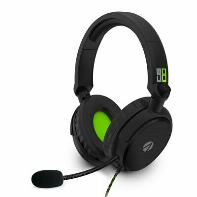 XBOX ONE * STEALTH C6 100 GREEN / BLACK GAMING HEADSET also PS4 / SWITCH / PC