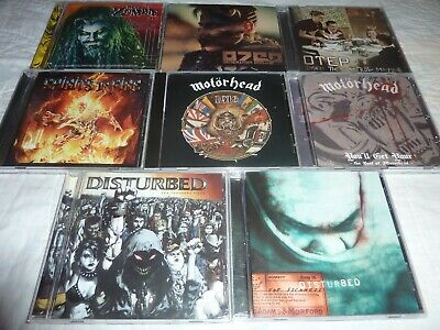 HEAVY METAL Lot of 8 Cd's in VG+ Condition! MOTORHEAD, OTEP, SPIRITS OF FIRE!