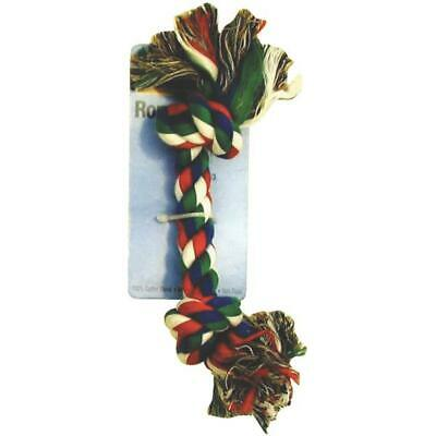 Westminster Pet Ruffin' it Medium Multi-Colored Rope Tug Dog Toy  6 pk