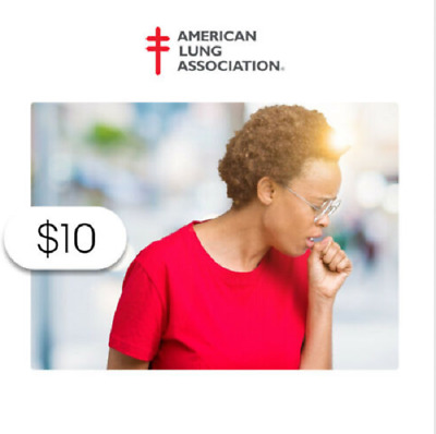 $10 Charitable Donation For: 1-on-1 Lung Health Information via Lung HelpLine 🏆