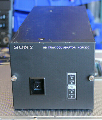 Sony HDFX100 HD Triax CCU Adaptor