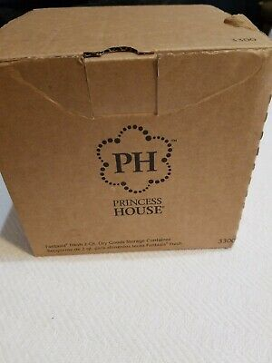 Princess House 3300 Fantasia Green Dry Food Storage Container 2 Qt CE9
