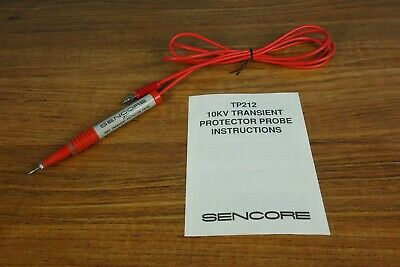 Sencore TP212 10KV Transient Protector Probe for DVM and Analog Meter