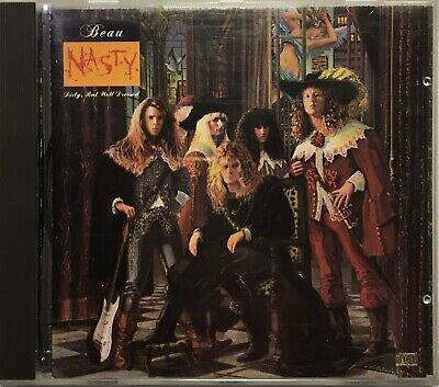 Beau Nasty - Dirty But Well Dressed (CD-1989) WTG Records Rare OOP HTF